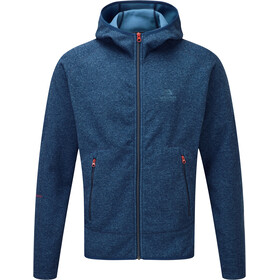 Mountain Equipment Kore Chaqueta con capucha Hombre, denim blue